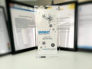 Make_Me_Local,_proud_to_be_recognsied_as_Best_New_Business_at_the_Bromley_Business_Awards_in_2017