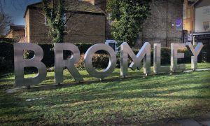 bromley-north-sign