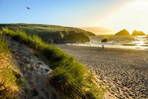 Holywell-Beach-Cornwall
