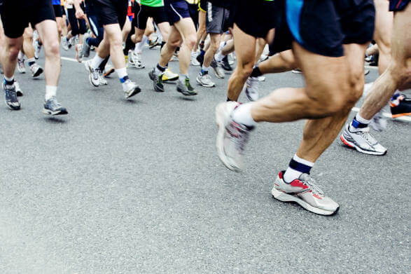 Beckenham half marathon runners