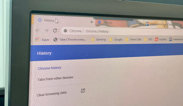 How To Delete Your Browser History Make Me Local
